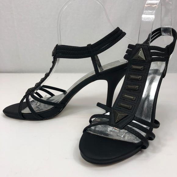 NEW YORK TRANSIT Shoes - NEW YORK TRANSIT black ankle strap heel 7.5M